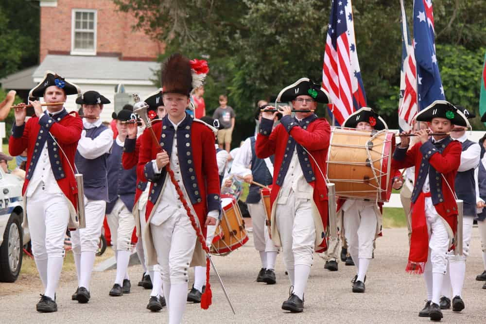 The Fifes and Drums of York Town. Photo: York County Tourism Development