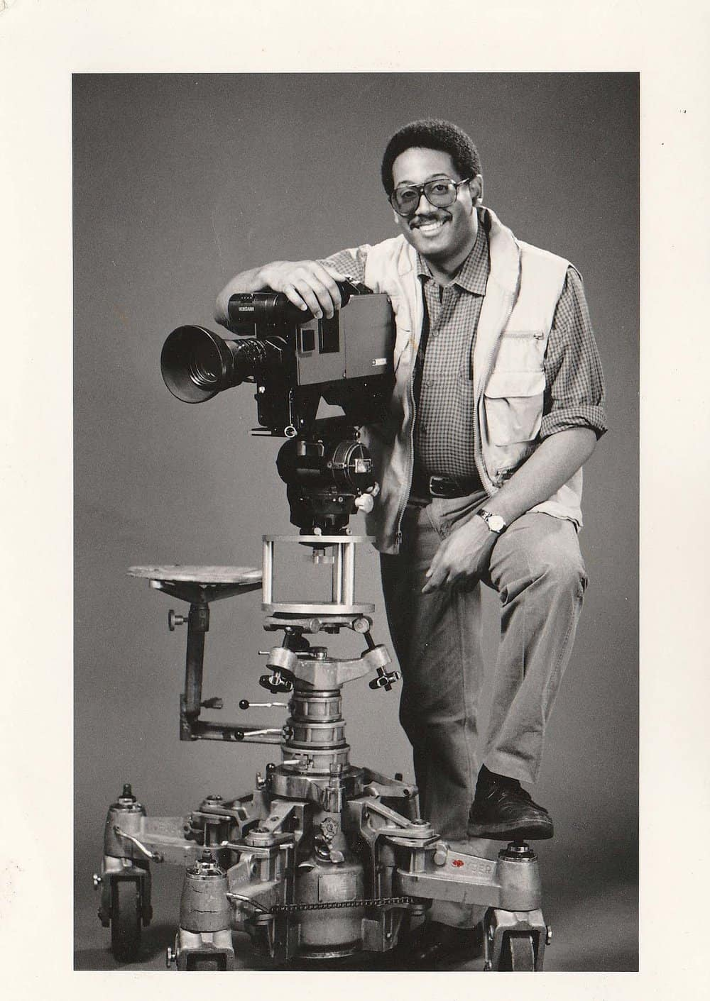 Film producer Tutman 20 years later in a publicity photo.Courtesy of Fred Tutman.