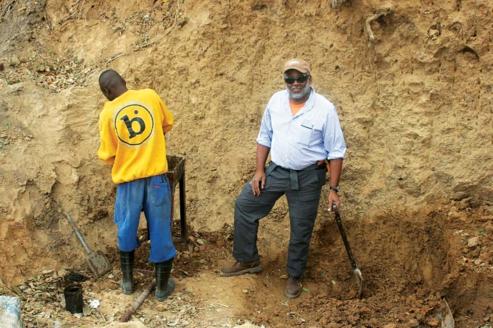 Back in Zambia more recently, Tutman helped start a riverkeeper program.Courtesy of Fred Tutman.