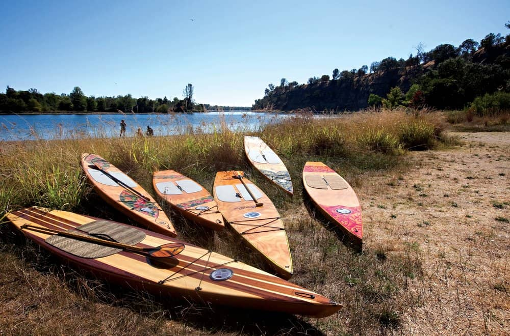 DIY Kaholo stand-up paddleboards
