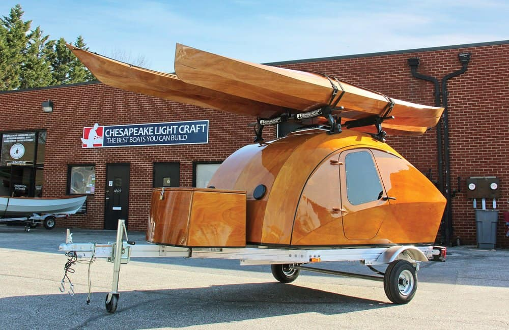 CLC's popular teardrop camper
