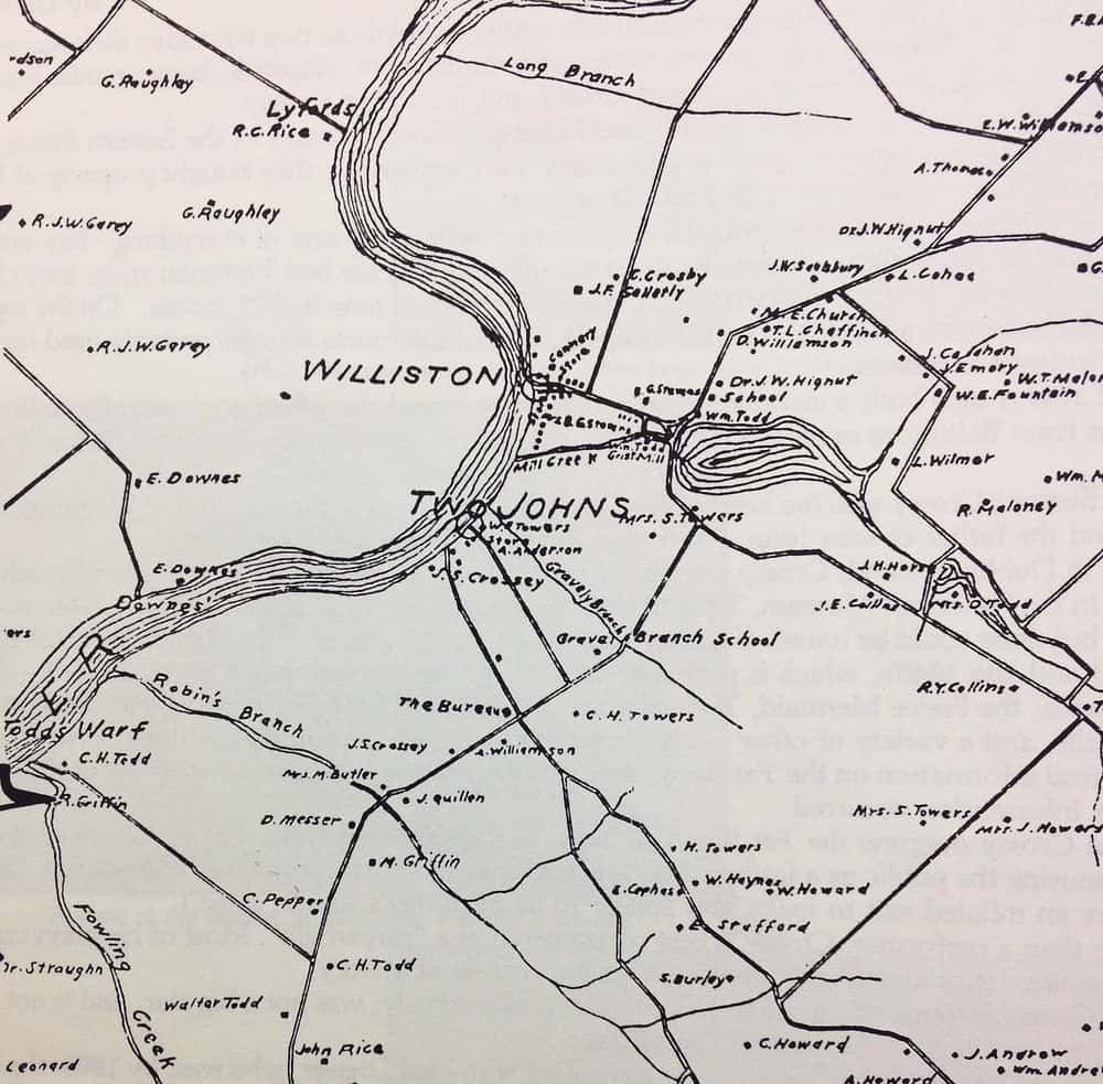 An early map of the spread