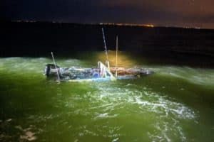 Two Rescued from Sinking Boat off Va's Eastern Shore