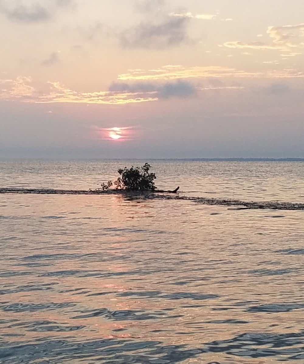 Debris on the water could be especially dangerous during an overnight race in which boat speeds reach over 20 knots. Photo: Maryland Natural Resources Police
