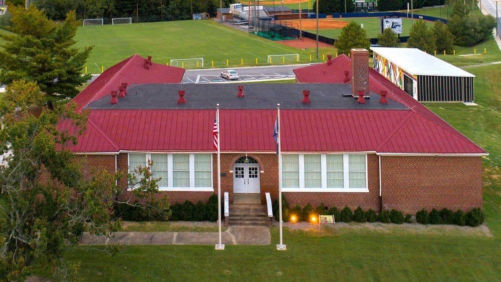 Robert Russ Moton High School in Farmville, Virginia