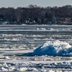 Stay Alert: Ice Remains on Waterways Despite Warmup