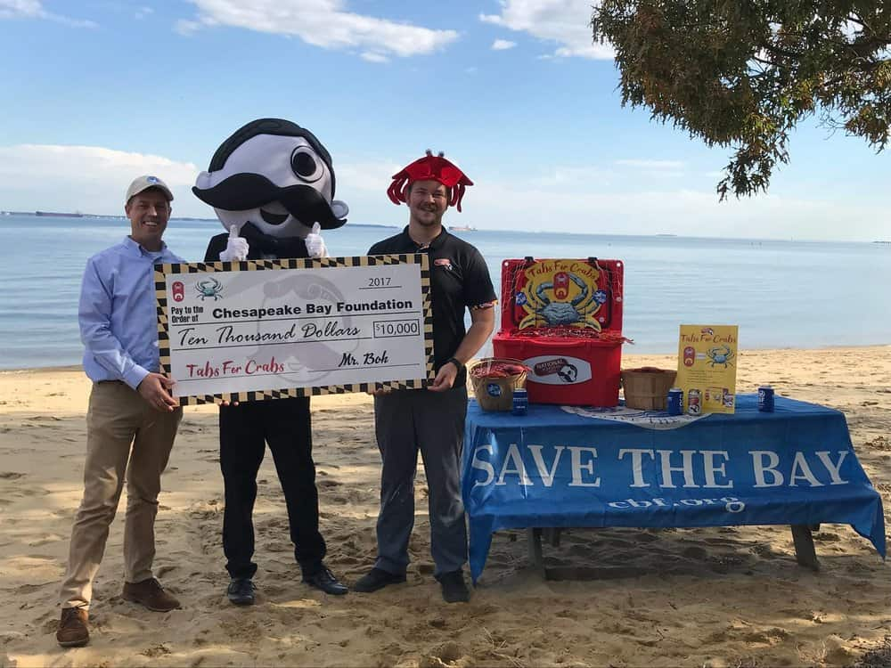 Natty Boh Beer-Tab Collectors Raise $10,000 for Blue Crab