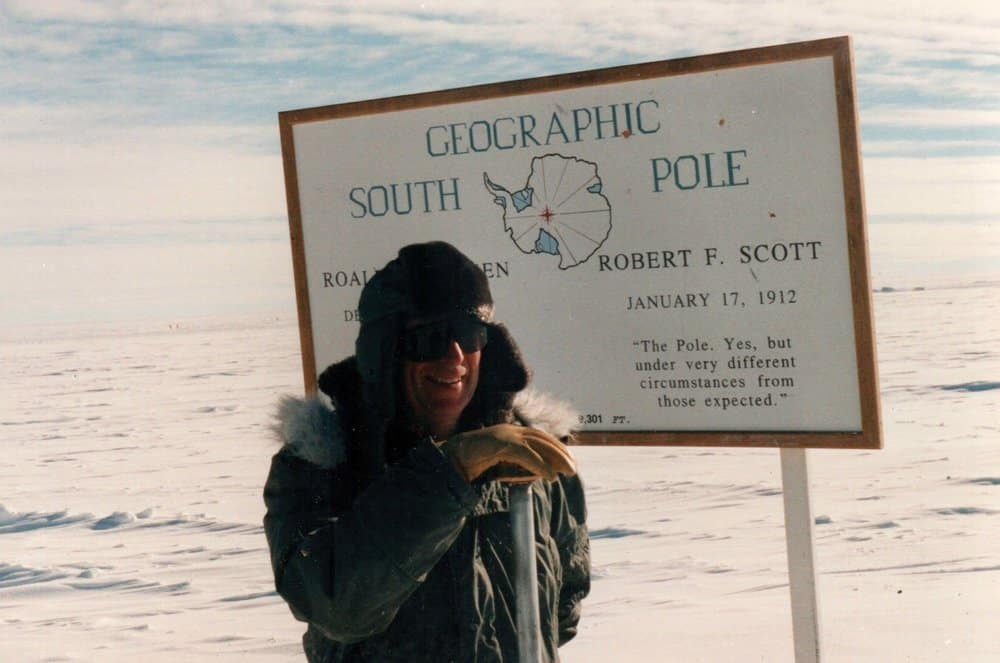 Gilchrest on 2003 Congressional delegation trip to Antarctica.