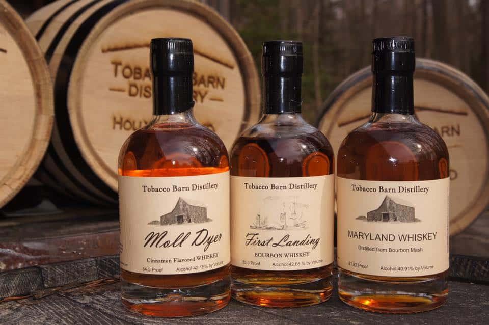 First Landing Bourbon is Tobacco Barn Distillery's newest spirit