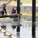 Warehouse Fire Causes Oil Spill in Baltimore Harbor