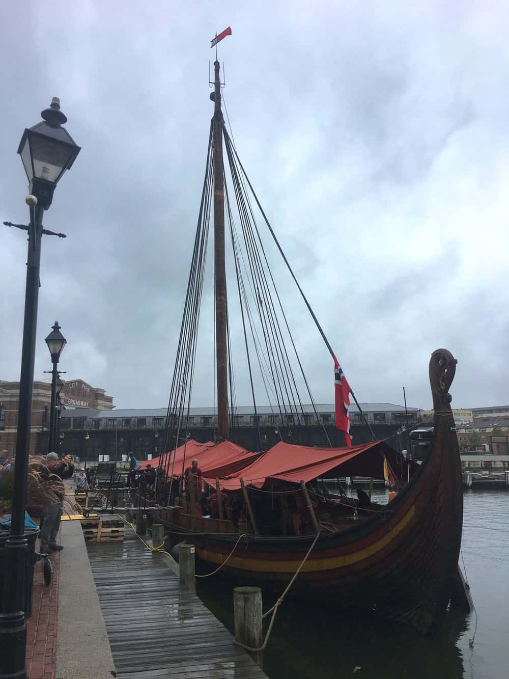 Draken's East Coast tour recently stopped in Fells Point.