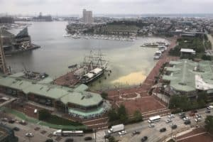 1.3 Million Gallons of Sewage Floods Baltimore Harbor