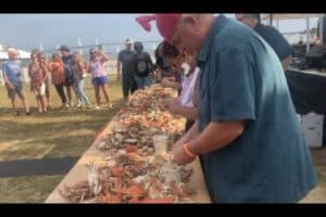 VIDEO: Md. Seafood Festival Crab-picking Winner
