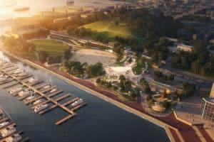 Million Makeover of Inner Harbor Park Approved