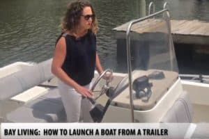 BAY LIVING: Launching a Boat Trailer, for Beginners