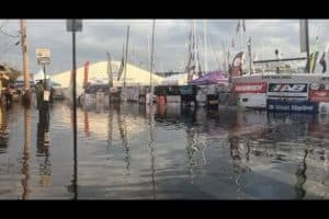 VIDEO: Annapolis Flooding Impacts U.S. Sailboat Show