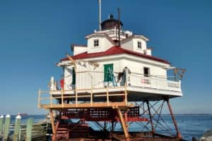 Thomas Point Lighthouse Fixes Underway Despite Setbacks