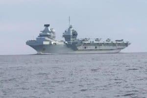 Britain's Largest Warship Visits Annapolis