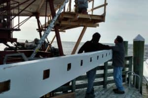 Thomas Point Lighthouse Gets Just-Right Wooden Beam at Last