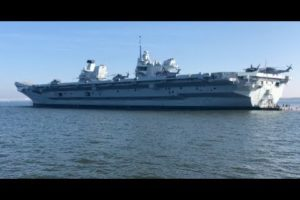 VIDEO: Step Aboard Britain's Largest Warship in Annapolis