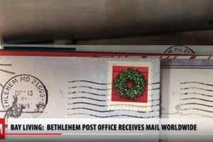 BAY LIVING: Christmas Card-Senders Flock to Eastern Shore Town