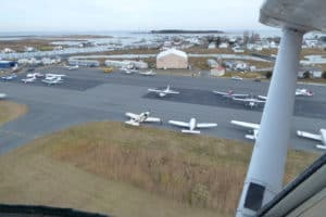 Pilots Gear up for Tangier Island