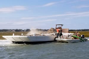 Lynnhaven Oyster Reef-Building Back in Business