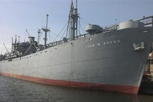 Baltimore Liberty Ship to Find Home at Former Beth Steel Shipyard