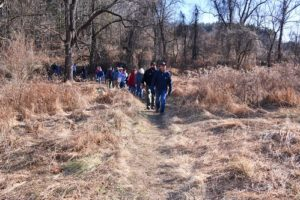 New Year's Day Hikes Break Attendance Record