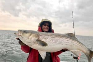 Possible World Record Rockfish Caught off Cape Charles