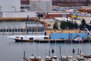 Pride II Stays in Baltimore for Drydock Maintenance