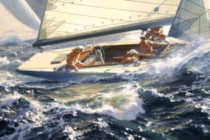 National Marine Artists Show off Work at Jamestown