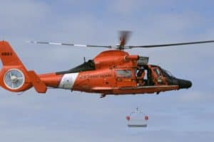 VIDEO: Captain Airlifted from Cargo Ship off Ocean City