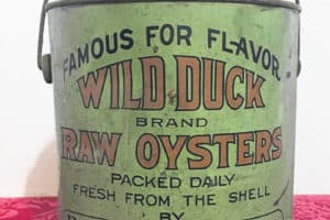 Rare Md. Oyster Tin Sells in Ohio Auction for ,800