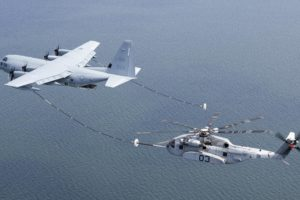 Military's Largest Helicopter Gets 1st Air-to-Air Refueling over Chesapeake Bay