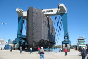 Million Awarded to Small Shipyards, Including Two on Bay