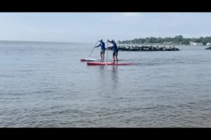 VIDEO: CBM Partners with Man Paddling Length of Bay for Oyster Recovery