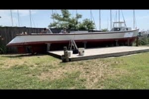 VIDEO: Museum's Wooden Buyboat Set on Fire, Arson Suspect Sought