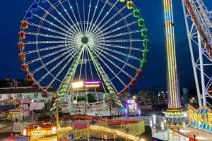 "Ocean City Amusement Park Unveils 150-Ft. ""Inlet Eye"""