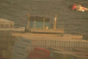 VIDEO: Cargo Ship Engine Explosion Prompts Rescue