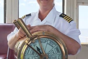 Cape May-Lewes Ferry Gets 1st Ever Female Captain
