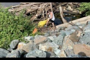 VIDEO: Potomac Trash Cleanups Return after Pandemic Delays