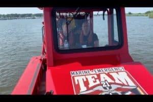 VIDEO: All-Volunteer Marine Emergency Team Patrols 4th of July Waters