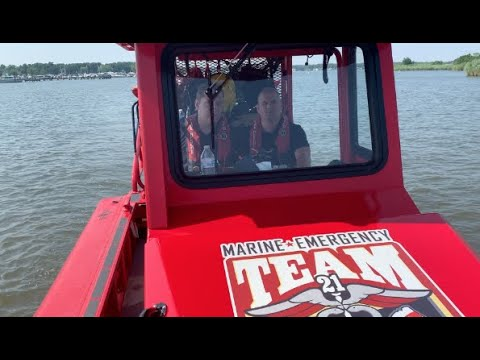 VIDEO: All-Volunteer Marine Emergency Team Patrols 4th of July Waters