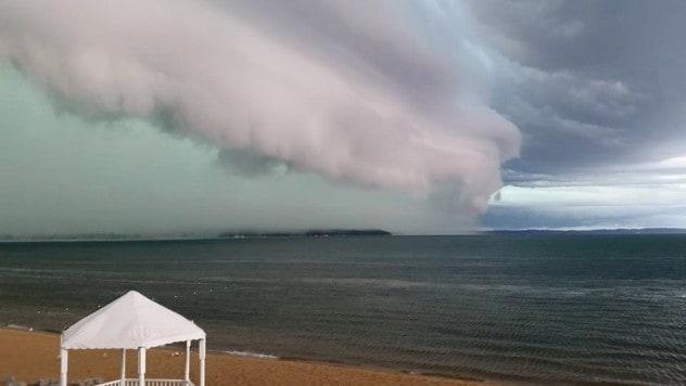 Rare Storm-Driven Tsunami Forms in Upper Chesapeake Bay