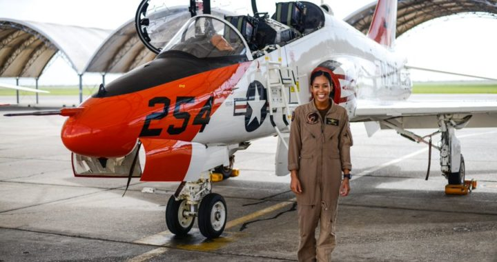 1st Black Female Tactical Pilot is USNA Grad from Va.