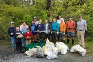 Trash-Free Campaign Launches on Mid-Shore