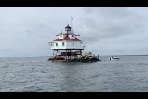 VIDEO: Thomas Pt. Lighthouse Renovations Complete