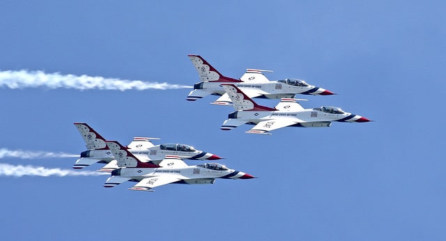 Thunderbirds Headline Scaled-Back OC Air Show