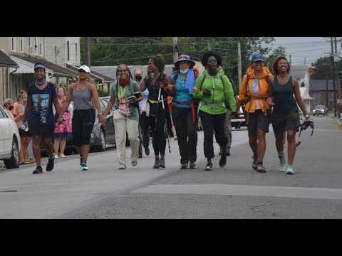 "VIDEO: Md. Women Take 116-Mile ""Walk with Harriet"" Along Underground Railroad"